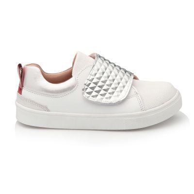 Кроссовки для девочек 912 | Белая детская обувь 10 лет 23,5 см