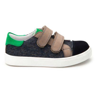 Мокасины для мальчиков  915 | Детская обувь из нубука