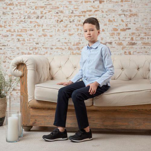 Кроссовки для мальчиков 926 | Детская обувь из нубука оптом и дропшиппинг