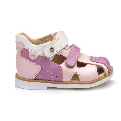 Босоножки для девочки 938 | Белая детская обувь 24 размер 14 см