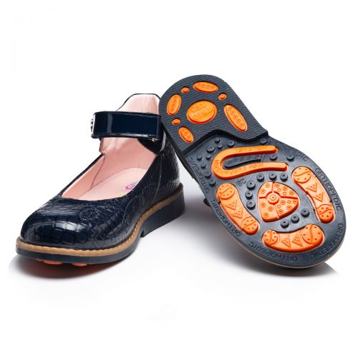 Туфли для девочек 943 | Осенняя детская обувь оптом и дропшиппинг
