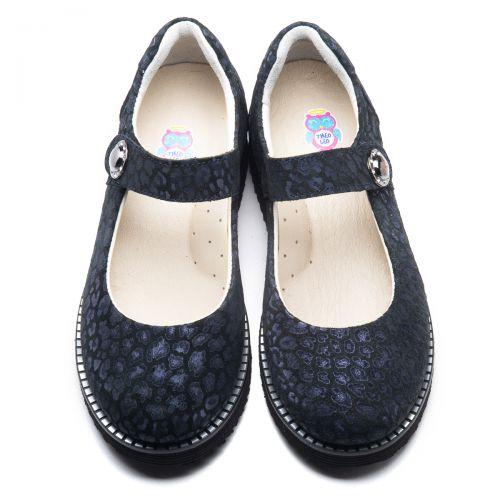 Туфли для девочек  952   Детская обувь 24 см оптом и дропшиппинг