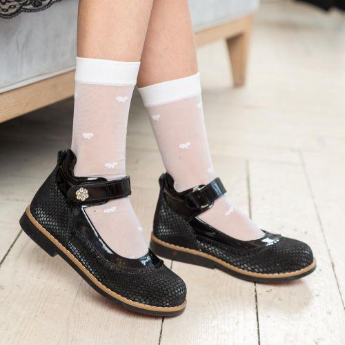 Туфли для девочек 962 | Осенняя детская обувь оптом и дропшиппинг