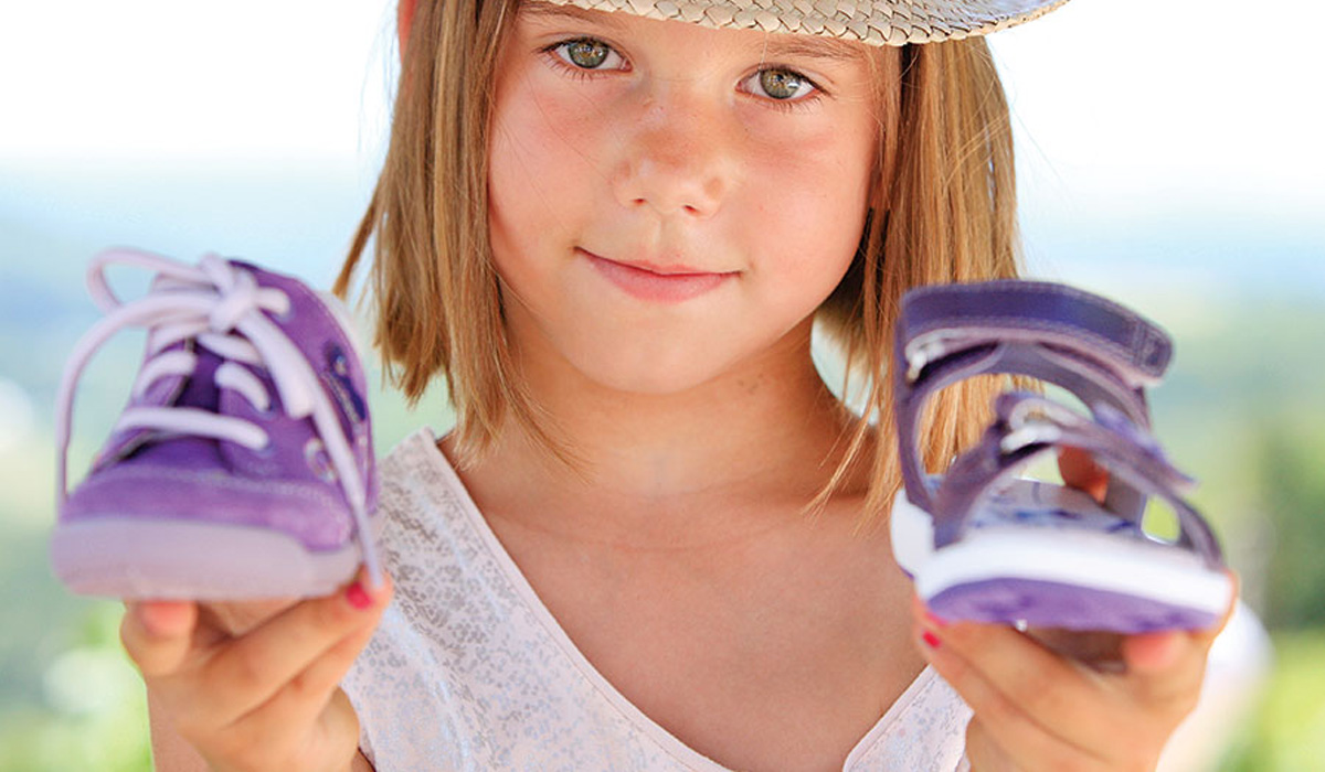 Разновидности детской обуви