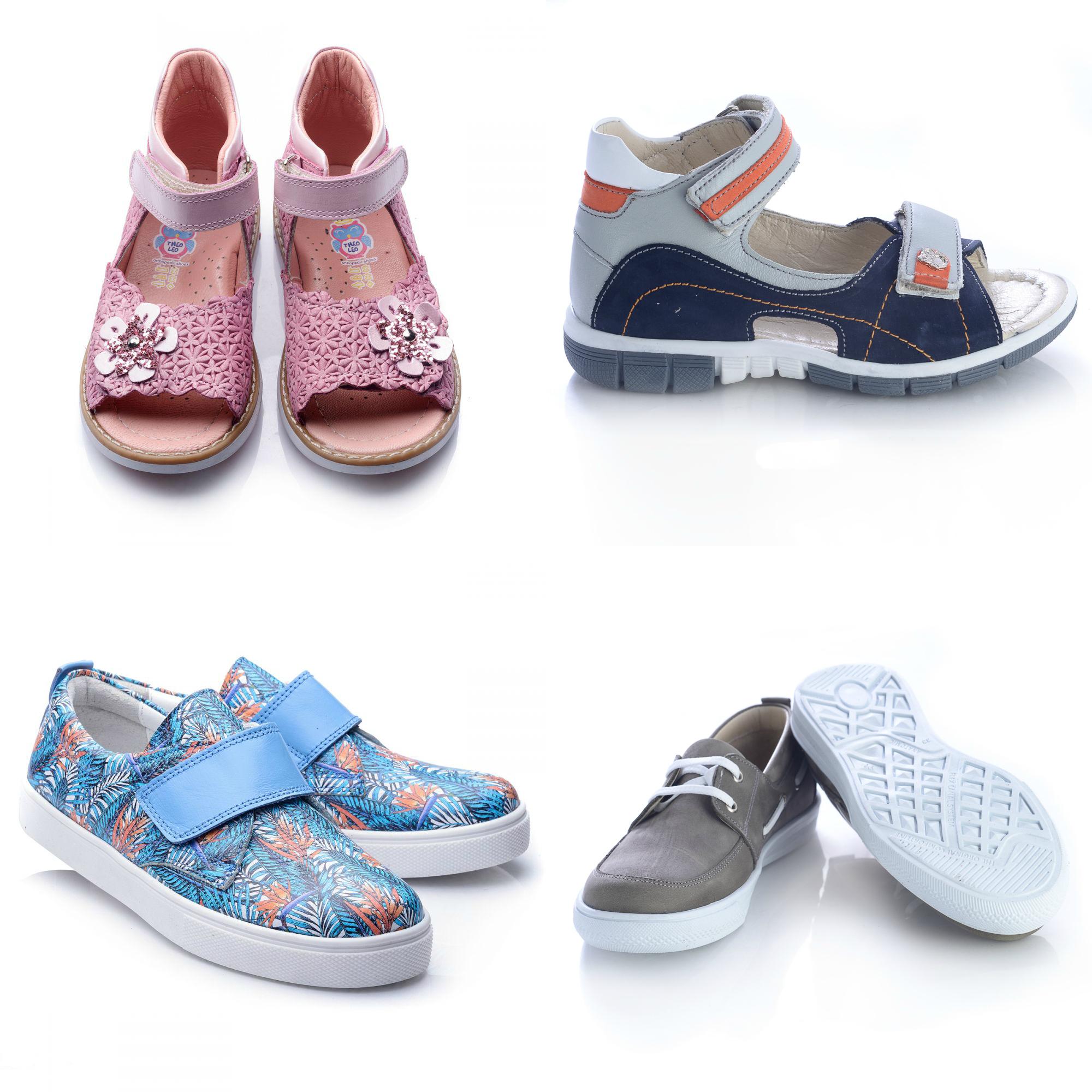 Асортимент дитячого літнього взуття Theo Leo c56acb340073a