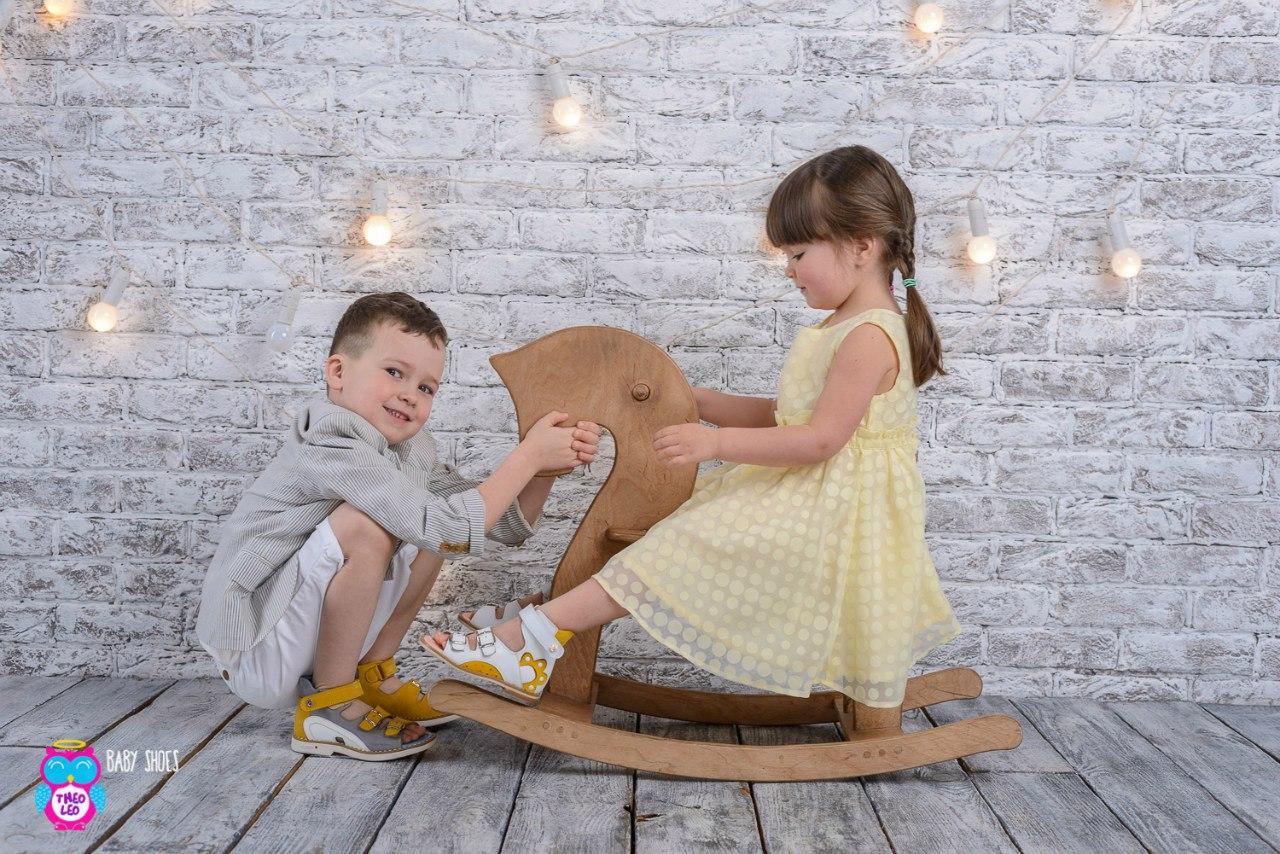 Качественная детская обувь бренда Theo Leo
