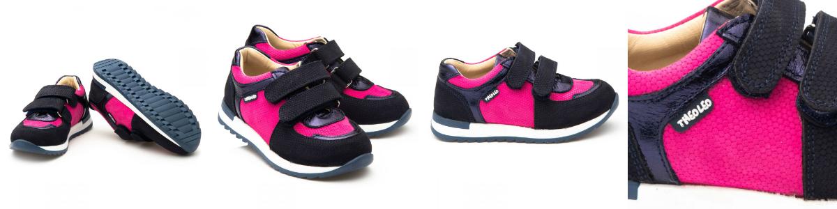 Нубуковые кроссовки Theo Leo для девочки